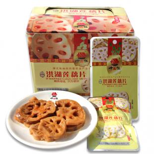 33克洪湖莲藕片(香辣味)