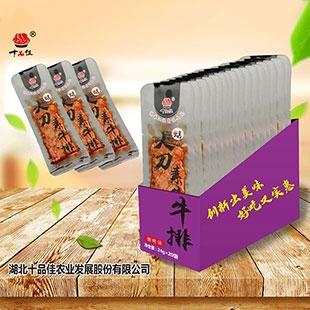 上海24克大刀牛排(烧烤味)